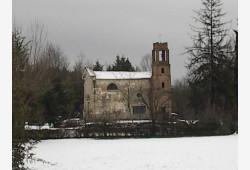 Chiesa del capoluogo - inverno