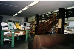 Biblioteca comunale: interno.
