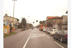 Incrocio vie Marconi/Garibaldi - prima dei lavori
